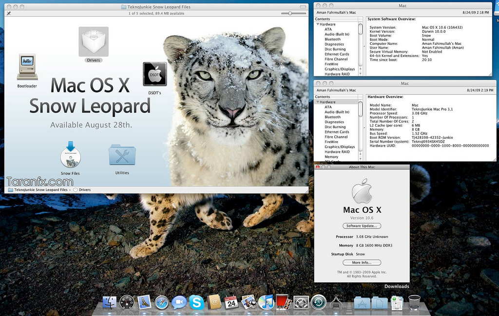 snow leopard iso download free